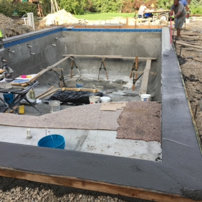 constructing utah swimming pool