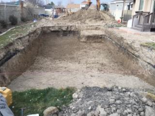 swimming pool hole