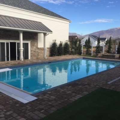 finished utah swimming pool