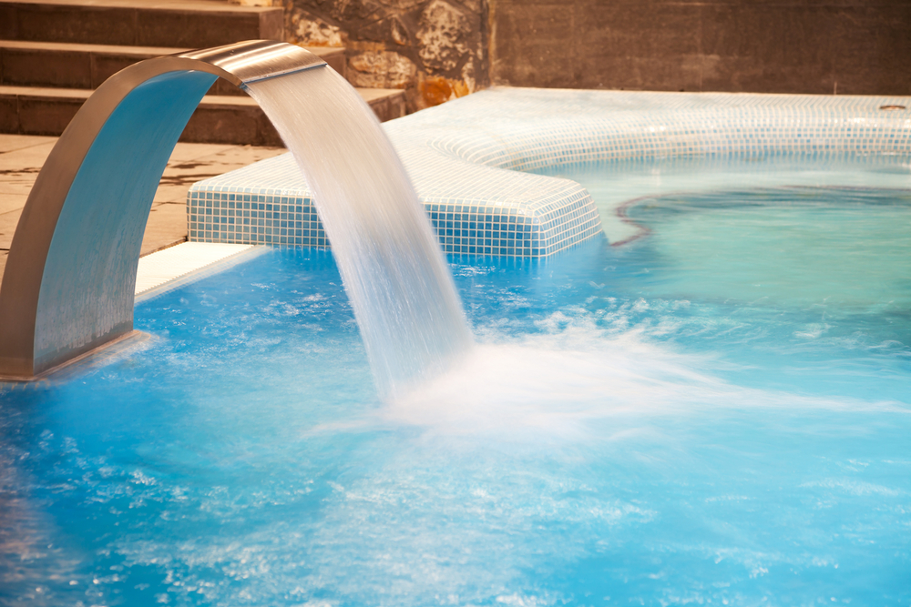 swimming pool waterfall costs