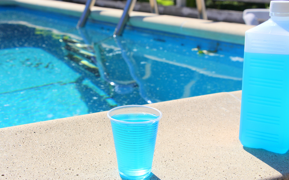 bleach pool cleaning stabilizer